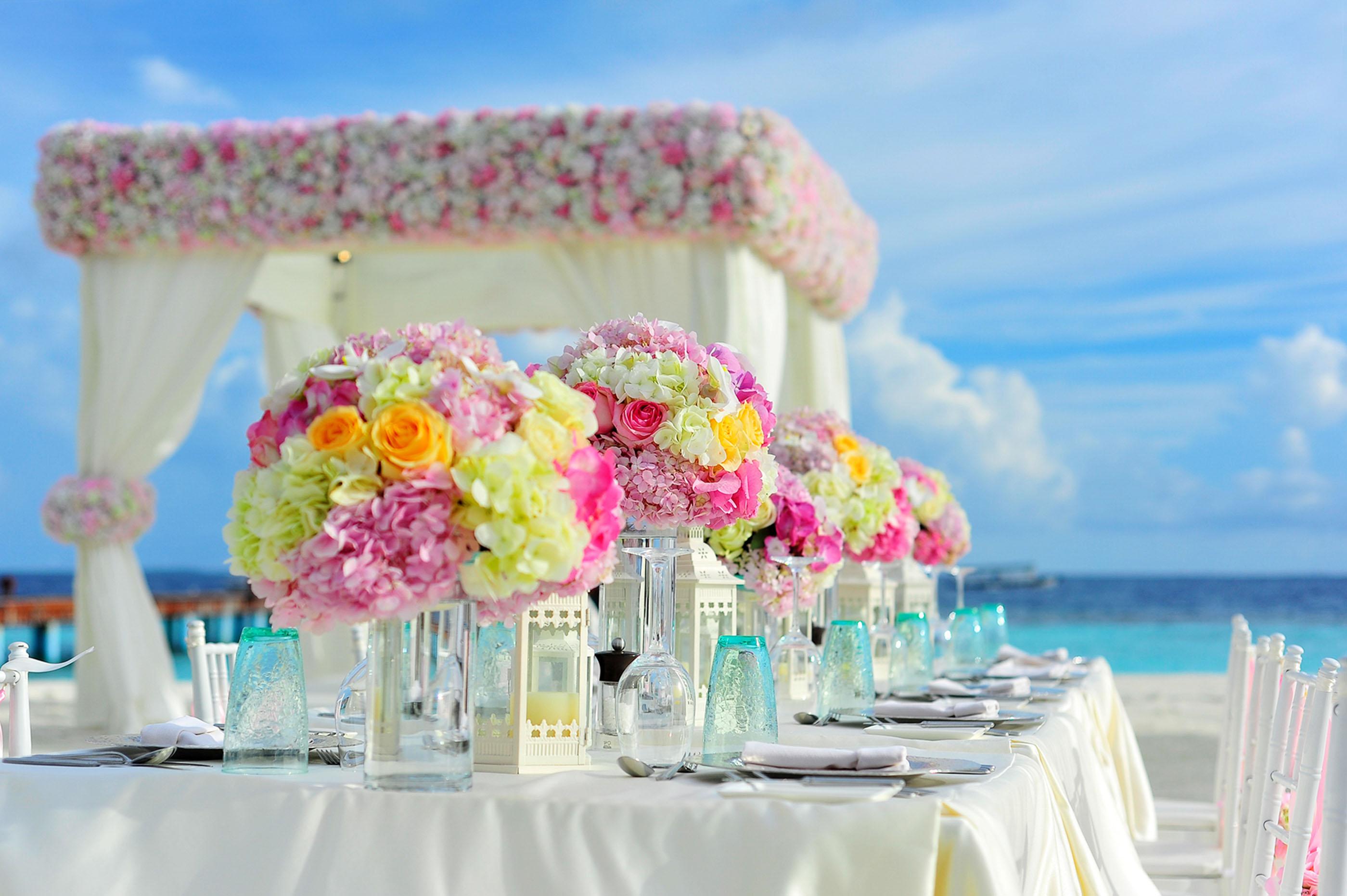 Die Perfekte Hochzeitsfeier Ein Bett Als Geschenk Zur Hochzeit Als
